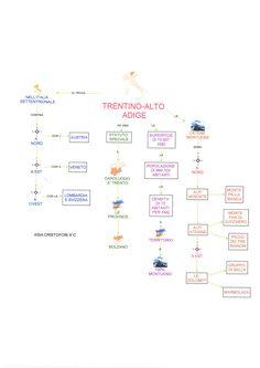 Mappa geografia: Trentino Alto Adige