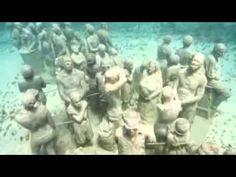 Underwater Sculpture Park by Jason de Caires Taylor