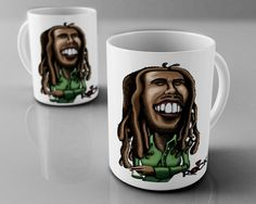 Bob Marley - caneca exclusiva - Mitos do Rock