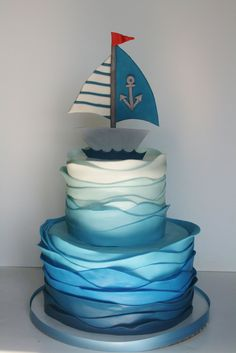 baby shower cakes for boys | ... cake for another precious little boy (only he is not turning one, but