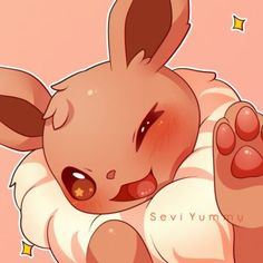 - Eevee by SeviYummy on DeviantArt Dog Pokemon, Pokemon Comics, Pokemon Cards, Pikachu, Pokemon Stuff, Eevee Wallpaper, Cute Pokemon Wallpaper, Eevee Cute, Pokemon Eeveelutions