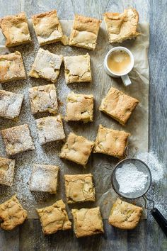 A giant plate of moist Caramel Apple Blondies are just what we all want as a…