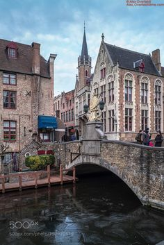 Walking through Bruges on a cold winter day by aoverfeldt #architecture #building #architexture #city #buildings #skyscraper #urban #design #minimal #cities #town #street #art #arts #architecturelovers #abstract #photooftheday #amazing #picoftheday