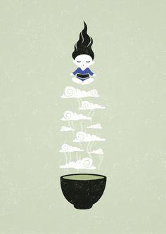 Zen tea II by Freeminds