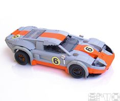 LEGO Ford GT Le Mans in Gulf colours