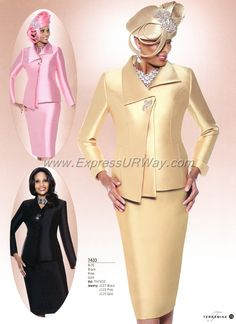 Church Suits by Terramina - Fall 2014 - www.ExpressURWay.com - Church Suits, Womens Church Suits, Ladies Church Suits, Terramina, Fall 2014, ExpressURWay