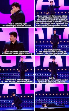 Michael McIntyre--not where I expected that to go, EVEN FUNNIER