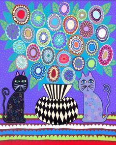 Check out this item in my Etsy shop https://www.etsy.com/listing/93690794/kerri-ambrosino-mexican-folk-art-print