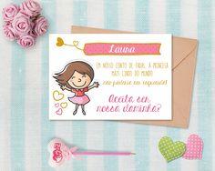Daminhas e floristas #Convite #Casamento #Wedding