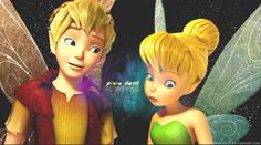 pixie dust by BlueRose177 on deviantART (Tinkerbell and Terence)