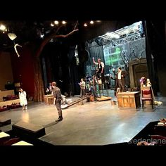 @bdt_stage is filled with Starstuff as they prepare for opening night of PETER AND THE STARCATCHER #COArts