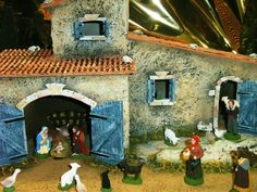 Santons Carbonel, Santons de Provence. Provençal Nativity. Repinned by www.mygrowingtraditions.com  - Carbonel Santons available at www.mygrowingtraditions.com