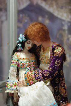 Enchanted Doll by Marina Bychkova- Snow White Anime Dolls, Bjd Dolls, Barbie Dolls, Pretty Dolls, Cute Dolls, Beautiful Dolls, Marina Bychkova, Enchanted Doll, Valley Of The Dolls