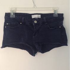 Garage navy blue shorts Navy blue color, from the store Garage, in very good condition! Garage Shorts Jean Shorts