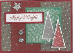 Diary of a Scrapbook Addict: Christmas Card Workshop