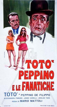 Totò, Peppino e le fanatiche 1958 di Mario Mattoli con Totò, Peppino De Filippo