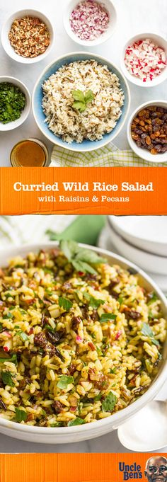This recipe for Curried Wild Rice Salad with raisins, pecans, and homemade vinaigrette lets you put a twist on essential ingredients—like UNCLE BEN'S® Long Grain & Wild Original Recipe. Your family is sure to love the delicious vegetables and unique flavor—while you'll love the quick prep. By picking up everything at Target, it couldn't be easier to pack this delicious, vegetarian-friendly dish for lunch as well!