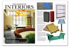 MUNNA You & Me Vis-a-Vis | The World of Interiors | January 2013