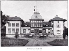 Fritsla, Kontorspersonalens villa (Fritsla Mekaniska Wäfveri) Stommen.