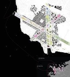 инфографика Runways to Greenways Decommissioned Airport Vatnsmyri Masterplan Design Competition