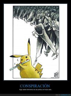 La conspiración de Pokémon GO - Algo están tramando los de arriba con todo esto