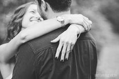 Engagement in Philadelphia | Fairmount Park | Black and White Photography