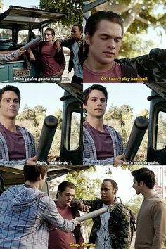 I loved this part where he gave the bat to Mason, the symbolism man. Things have changed
