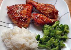 Grilled Korean Barbecue Chicken