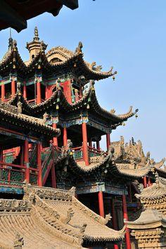Gao Temple in Zhongwei, Ningxia province, China #travel