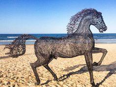 beach sculpture at Gold Coast Swell Festival 2014