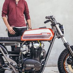 awesome feature & drool-worthy pics on the ground-up custom bike build and resto by my buddy. ❤️ James & his work!