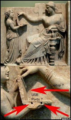 😂😂😂😂😂 Must be ancient aliens. Ancient Aliens, Aliens And Ufos, Ancient Egypt, Ancient History, Ancient Greek, Ancient Civilizations, Egyptians, Greeks, Ancient Artifacts