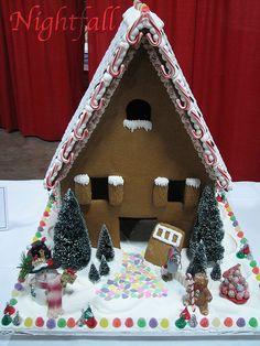 Gingerbread House by esmereldes, via Flickr