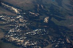 Jeff Williams @Astro_Jeff   Northwest Wyoming's Yellowstone Park, the Tetons, and the Wind River Range.