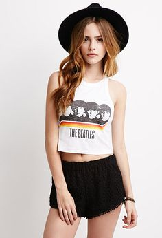 The Beatles Graphic Tank | Forever 21 - 2002247074
