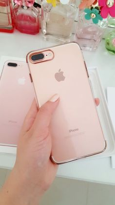 apple, iphone, and rose gold image http://amzn.to/2sZizM2