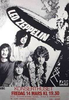 Roughly 6 months after their first gig (where they were billed as 'The Yardbirds med Jimmy Page') this is Led Zeppelin giving a hint as to why they will dominate venues and stadia across the world during the 1970s.