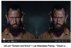 Scream and Shout | Les Miserables\will.i.am Parody