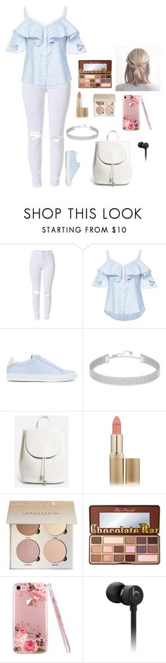 """""""Untitled #426"""" by musicinfinity ❤ liked on Polyvore featuring Veronica Beard, Givenchy, Swarovski, Everlane, L'Oréal Paris and Beats by Dr. Dre"""
