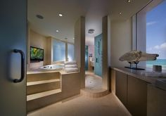 Bathroom Cabinets - bathroom countertops - miami - by Dayoris Custom Woodwork