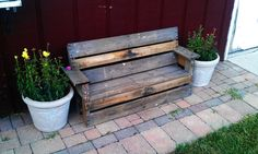 Kids Bench /Reclaimed Pallets.