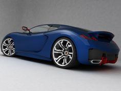 Blue-Porsche-Supercar-Concept