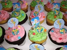 Butternut Cupcakes Specialty Cupcakes - Tinkerbell