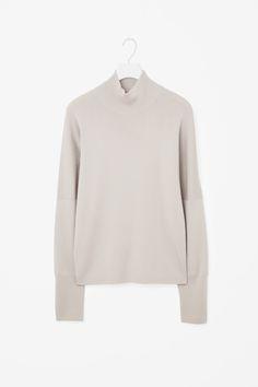 COS | Drop-shoulder high-neck jumper