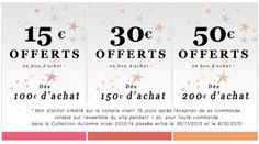 Du 30 Nov au 06 Déc, Jusqu'à 50 Euros Offert !