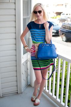 Flashback to Wedding Week 2013: Rainbow Dresses on the Shore - Kelly in the City