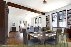Upper Westside, NYC. 1BR Virtually Staged. Click to see unstaged.