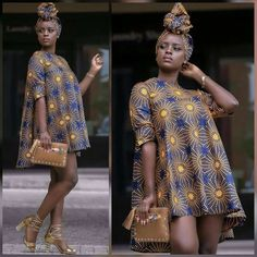 We are going to take a look at the recent trends in Ankara short dress styles which are a rave currently on the African fashion… African Fashion Designers, African Inspired Fashion, African Print Fashion, Africa Fashion, Ankara Short Gown Styles, Trendy Ankara Styles, Ankara Gowns, Ankara Skirt, Short Styles