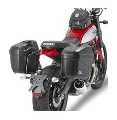 Givi PL7407 Side Case Racks Ducati Scrambler 2015-2017 - RevZilla