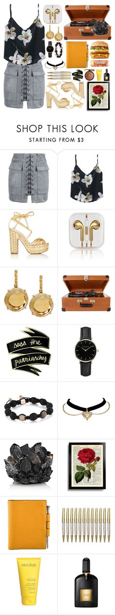 """""""Untitled #171"""" by fjannah on Polyvore featuring WithChic, Alchimia Di Ballin, iTouch, Plukka, Crosley, ROSEFIELD, McCoy Design, Hermès, Physicians Formula and Tom Ford"""